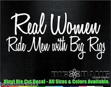 Big Rig Vinyl Die Cut Decal Sticker Funny Kenworth Mack Peterbilt