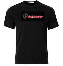 Dodge Demon - Graphic Cotton T Shirt Short & Long Sleeve