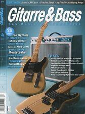 Gitarre und Bass # April 2011 -FENDER TELECASTER- Foo Fighters, H-Blockx, Sting