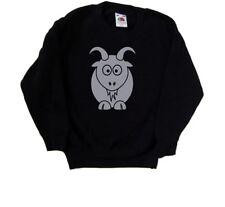 Cartoon Goat Kids Sweatshirt