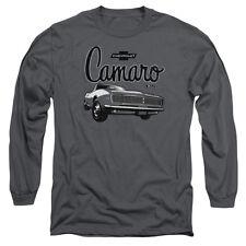 CHEVROLET SCRIPT CAR T-Shirt Men's Long Sleeve