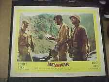 MEN IN WAR, orig 1957 LC #8 [Anthony Mann, Robert Ryan, Aldo Ray]