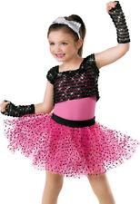 "NEW Weissman ""Material Girl"" Dance Costume Skate Dress  5598 Child"