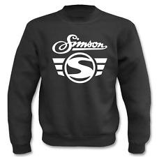 Pullover Simson Logo + Schrift I Fun I Sprüche I Lustig I Sweatshirt