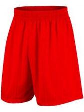 Prostar Omega Junior Football Shorts - Red - Free Postage