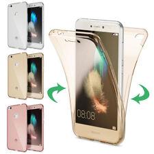 Huawei P8 Lite 2017 Hülle 360 Grad Handy Hülle von NICA, Full Cover Rundum Case