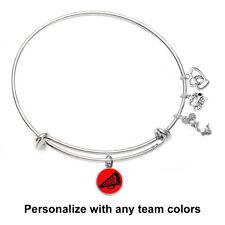 Cheerleading Bangle Bracelet (Choose School / Team Colors)