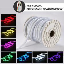 RGB Flex LED Neon Stripe Streifen 220V 230V 2835 5050 wasserdicht + Controller