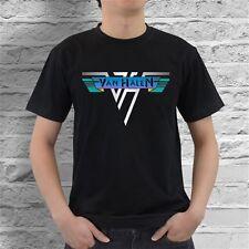 Van Halen VH Rock Black T-Shirt VH1 VH2