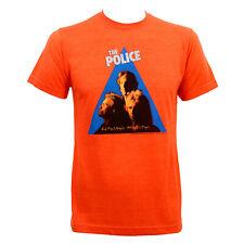 Authentic THE POLICE Zenyatta Mondatta Slim-Fit T-Shirt Orange S M L XL 2XL NEW