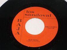 Los Sandoval: Que Sera Sera / Alma Llanera  [Unplayed Copy]