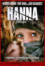 Hanna DVD, Saoirse Ronan, Eric Bana, Cate Blanchett, Tom Hollander, Olivia Willi
