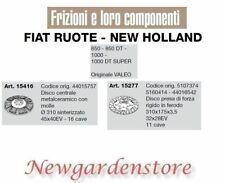 Disco frizione presa di forza trattore 850 1000DT FIAT RUOTE NEW HOLLAND VALEO