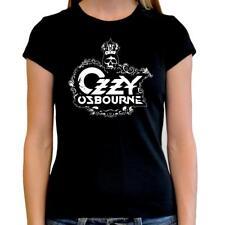 Camiseta mujer Ozzy Osbourne t shirt women Heavy metal hard rock Black sabbath