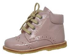 Angulus 2378 Halbschuhe mit Budapester Rose Leder Schuhe Mädchen Gr. 21 - 25 Neu