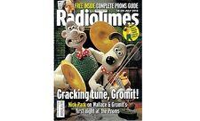 Radio Times Magazine,Wallace And Gromit,Nick Park,Usain Bolt,Roux Scholarship