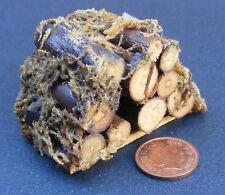 1:12 Medium pile de journaux pour Feu Bois Maison De Poupées Miniature Jardin Accessoire