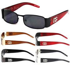 DG Eyewear Mens Womens Rectangular Designer Sunglasses Retro Fashion Vintage 80s