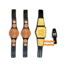 WWE World Heavyweight Championship Wrestling Tag Team Belt Microphone Mattel Toy