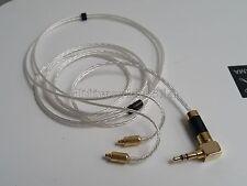 Teflon Silver Plated Headphone Cable Shure SE215 SE315 SE425 SE535 SE846