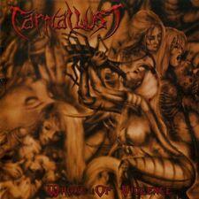 CARNAL LUST-WHORE OF VIOLENCE-CD-no return-fatal-death-metal