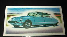 1963 CITROEN DS  Orig Priory Tea I SPY Trade Card UK