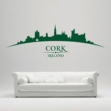 Cork Ireland City Skyline - Blarney Castle, Cathedral  - Bedroom Living Room Wal