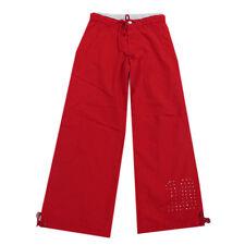 AMY Hosen lange Hose Freizeithose Netzfutter Rot Mädchen Gr.128,152,164,176