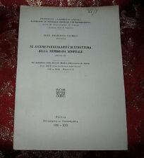 Libro Antico 1935 Particolarità di Struttura della Membrana Sinoviale
