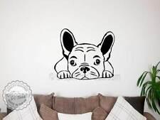 BULLDOG FRANCESE Autoadesivo PUPPY DOG MURALE PARETE DECOR Decalcomania Adesivi Cane