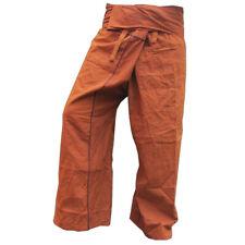 """PANASIAM Thai Fisherman Hose """"Stripe-Design"""" aus fester Baumwolle, mit Tasche"""