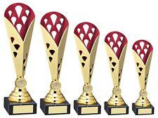 Multisport Any Activity Award Red Gold Segment FREE ENGRAVING 5 fabulous sizes