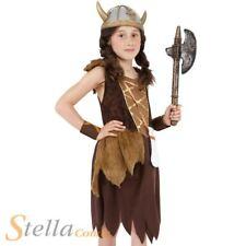 filles Viking costume fille historique médiéval guerrier costume déguisement