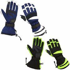 Hugger Men's Textile Snowmobile Gloves 200g Insulation Gauntlet Winter Driving