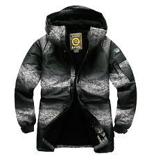 Southplay Mens Winter Waterproof TwoTone Military Ski-Snowboard Jacket, BJ106