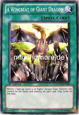 Yu-Gi-Oh 2x A Wingbeat of Giant Dragon - - - SDDC