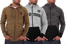 Zoo York Mens Boys Apollo Hip Hop Star Skater Hoodie Jacket G Wear Money Is Time