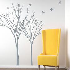 Autunno INVERNO Albero Uccelli Vinile Muro ARTE Adesivi, Decalcomanie Parete, Grafica Muro