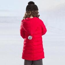 Plus Size Coat Baby Boys Girls Warm Hooded Jacket Outwear 3-14T  Kids Winter cc