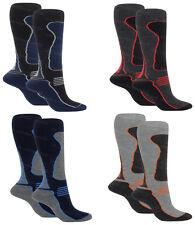 Mens Thermal Padded 2.0 Tog Long Ski Hiking Socks Extra Warmth Fully Cushioned