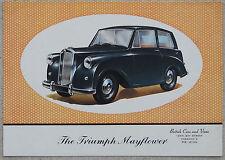 Triumph Mayflower 1952 colour brochure