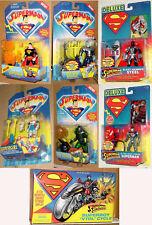SUPERMAN ANIMATED CHOOSE DELUXE ULTRA HEAT VISION BLAST BRAINIAC LUTHOR SUPERGRL