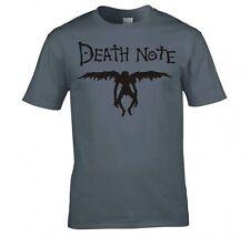 """Death NOTE """"RYUK SILHOUETTE LOGO"""" MAGLIETTA NUOVA"""