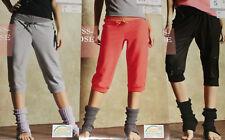 Damen Wellnesshose Caprihose Capri Fitnesshose Yogahose Gr.S M L NEU