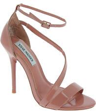 Steve Madden SASHA SANDAL Women's heels ankle strap sandals pink patent leather