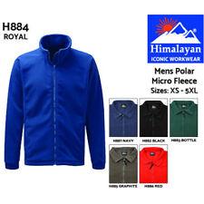 Himalayan Polar Micro Fleece Polyester Industrial Work Collar Mens Zip Jacket