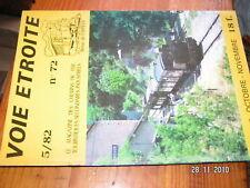 Voie étroite n°72 Réseau du centre Anduze StJean Gard