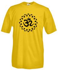 T-Shirt Religion J114 OM Sacro Mantra Induismo Religioni Indu Pace Peace
