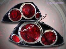 00-02 Mitsubishi Eclipse Tail Lights JDM Black G2 01 02