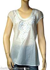 Tunique voile de coton ecru I.CODE by IKKS  femme taille XL